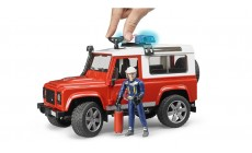 Bruder 02596 - Feuerwehr Land Rover Defender Station Wagon