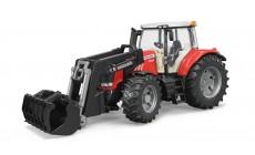 Bruder 03047 - Traktor Massey Ferguson 7624 mit Frontlader