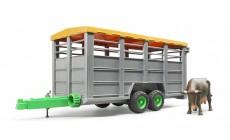 Bruder 02227 - Viehtransportanhänger
