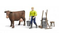 Bruder bworld 62605 - Figurenset Landwirtschaft