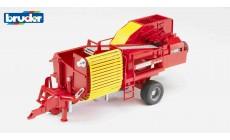 Bruder 02130 - Grimme SE75-30 Kartoffelvollernter mit Kartoffelimitaten