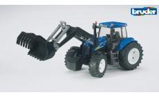 Bruder 03021 - New Holland Traktor T8040 mit Frontlader