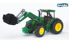 Bruder 03051 - John Deere 7930 Traktor mit Frontlader