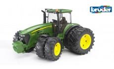 Bruder 03052 - John Deere 7930 Traktor mit Zwillingsbereifung