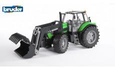 Bruder 03081 - Deutz Traktor Agrotron X720 mit Frontlader