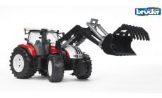 Bruder 03091 - Steyr CVT 6230 Traktor mit Frontlader