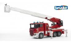 Bruder 03590 - Scania R-Serie Feuerwehrleiterwagen, Wasserpumpe