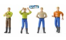 Bruder bworld 60010 - Mann mit brünetten Haaren und Stiefeln