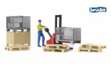 Bruder bworld 62200 - Figurenset Logistik