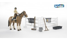 Bruder bworld 62500 - Figurenset Reiten