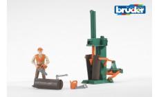 Bruder bworld 62650 - Figurenset Forstwirtschaft