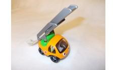 Cartoon Fahrzeug - Feuerwehr mit Leiter