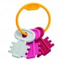 Chicco - Schlüsselbeißring, rosa