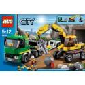 LEGO City 4203 - Grubenbagger mit Transporter