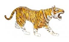 Holz Puzzle - 3D Tiger