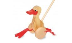 Holz Watschel Ente
