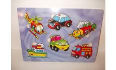 Holz Puzzle - Clown & Verkehr