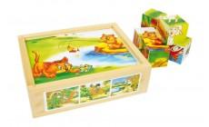 Holz Puzzle - Tierspaß