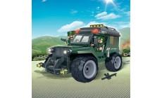 BanBao - Militär Jeep mit Rückzug