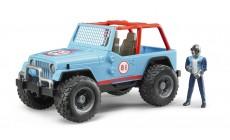 Bruder 02541 - Jeep Cross Country Racer blau