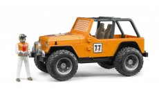 Bruder 02542 - Jeep Cross Country Racer orange