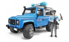 Bruder 02597 - Polizei Auto Land Rover Defender Station Wagon