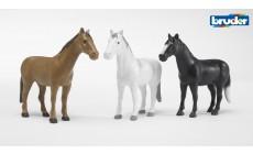 Bruder 02306 - Pferd (3 Farben sortiert)