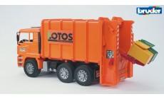 Bruder 02762 - MAN TGA Hecklader Müll-LKW