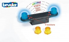 Bruder 02801 - Light and Sound Modul