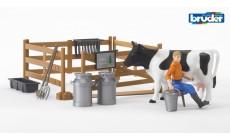 Bruder bworld 62600 - Figurenset Landwirtschaft