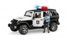 Bruder 02526 - Jeep Wrangler Unlimited Rubicon Polizeifahrzeug